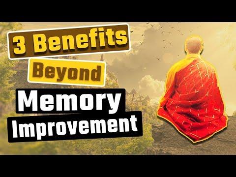 3 Meditation Benefits Beyond Memory Improvement
