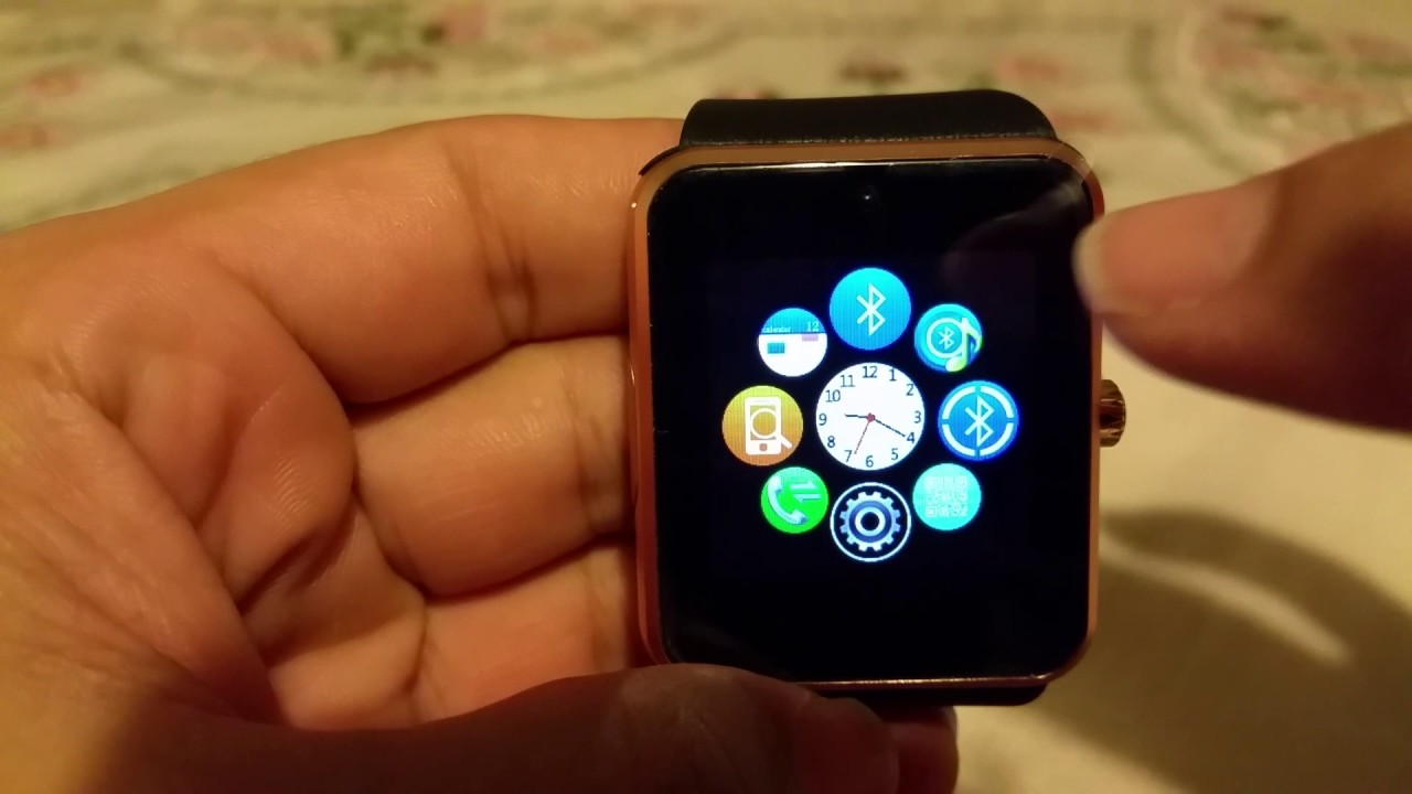 How to pair GT08 Smartwatch with Iphone 6 Plus