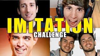 IMITIAMO GLI YOUTUBERS - IMITATION CHALLENGE - iPantellas