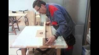 mesa para fresadora portatil