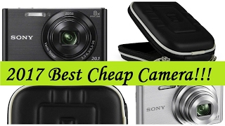 Sony DSC-W830 Pros and Cons and Case