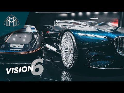 Самый СУМАСШЕДШИЙ Mercedes в истории?! Maybach Vision 6 - обзор нереального Benz'а! Тест-драйв бы!) - Видео онлайн