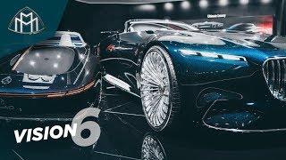 Самый СУМАСШЕДШИЙ Mercedes в истории?! Maybach Vision 6 - обзор нереального Benz'а! Тест-драйв бы!)