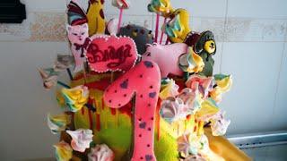Торт для детей. Животные / Cake for kids. Animals