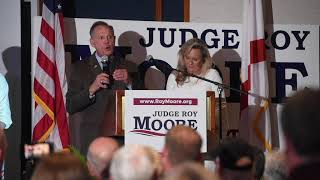 U.S. Senate candidate Roy Moore after primary election