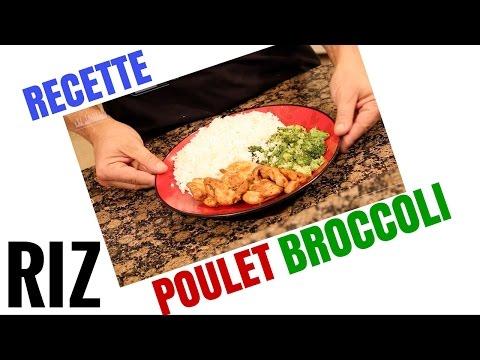 nutrition-:-recette-riz-poulet-broccoli