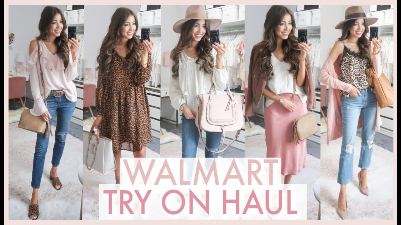 HUGE WALMART FALL TRY ON HAUL 2019 | fall outfit ideas 8