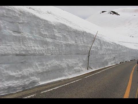 Japan Central Trip (2016 April) - Kurobe Alpine Route / Snow Wall 雪の大谷