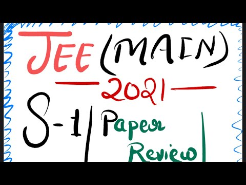 JEE Main - 23 Feb 2021 | S-1 | Paper Review - Students Reaction | JEE Main review - Saurabh Maurya
