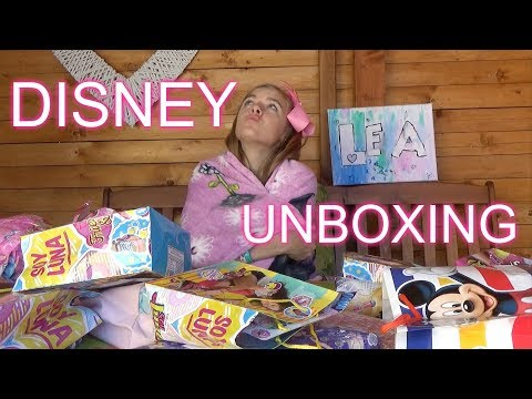 Disney unboxing z Desisyle - gymnastická challenge /LEA