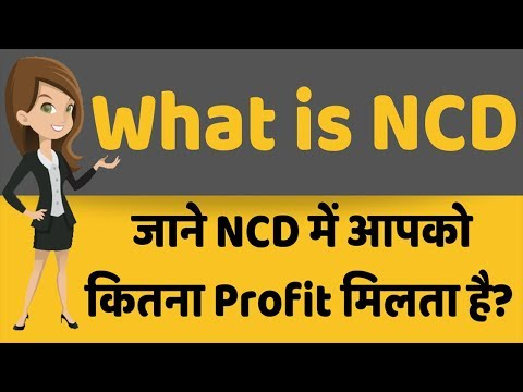 What is NCD (Non Convertible Debentures)?