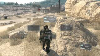 -Easy Material Process You can AFK- METAL GEAR SOLID V: THE PHANTOM PAIN