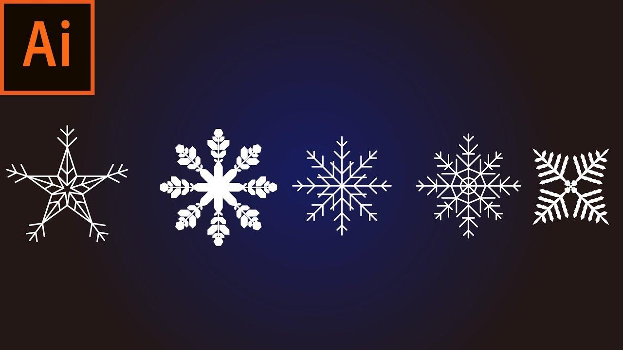 雪 の 結晶 書き方