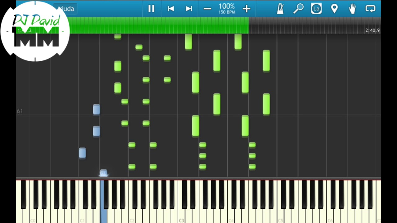 Mc Mm Feat Dj Rd So Quer Vrau Tutorial Aula Piano Teclado