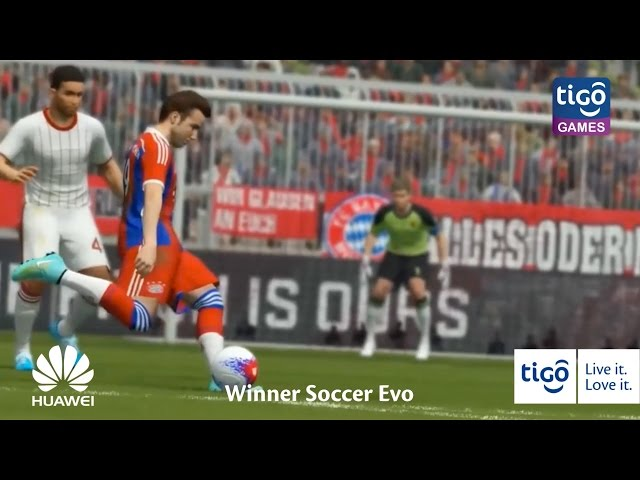 Cheza Winner Soccer Evo Sasa kwenye Tigo Games! https://goo.gl/mwRdIT