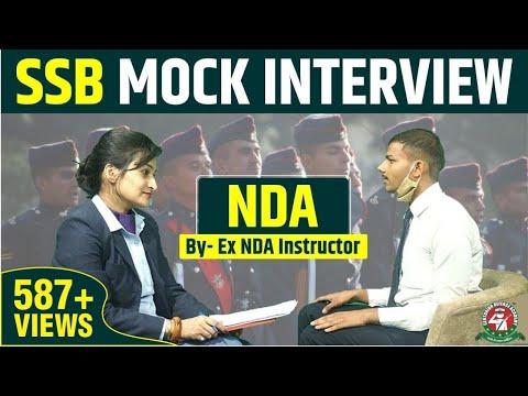SSB Mock Interview By Ex NDA Instructor | NDA SSB Mock Interview | Centurion Defence Academy