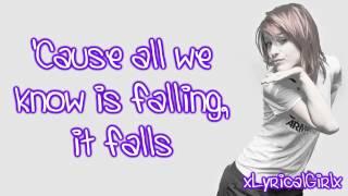 Paramore - All We Know Lyrics HD