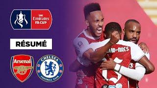 Résumé : Avec un Aubameyang majestueux, Arsenal s'offre la FA Cup contre Chelsea
