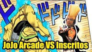 LIVE de JoJo Bizarre Adventure VS inscritos no Fightcade MetaDoPCNovo