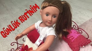 Oyuncak Bebeklerimizin Günlük Rutini ! Play Toys doll American Girl, Our Generation Bidünya Oyuncak