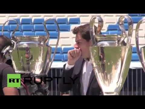 Spain: Casillas says goodbye after 25 years at Real Madrid
