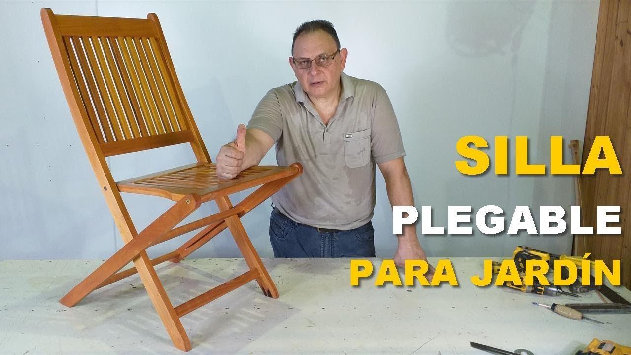 Silla Madera Paso De Chair A Plegable Wooden wP0knO
