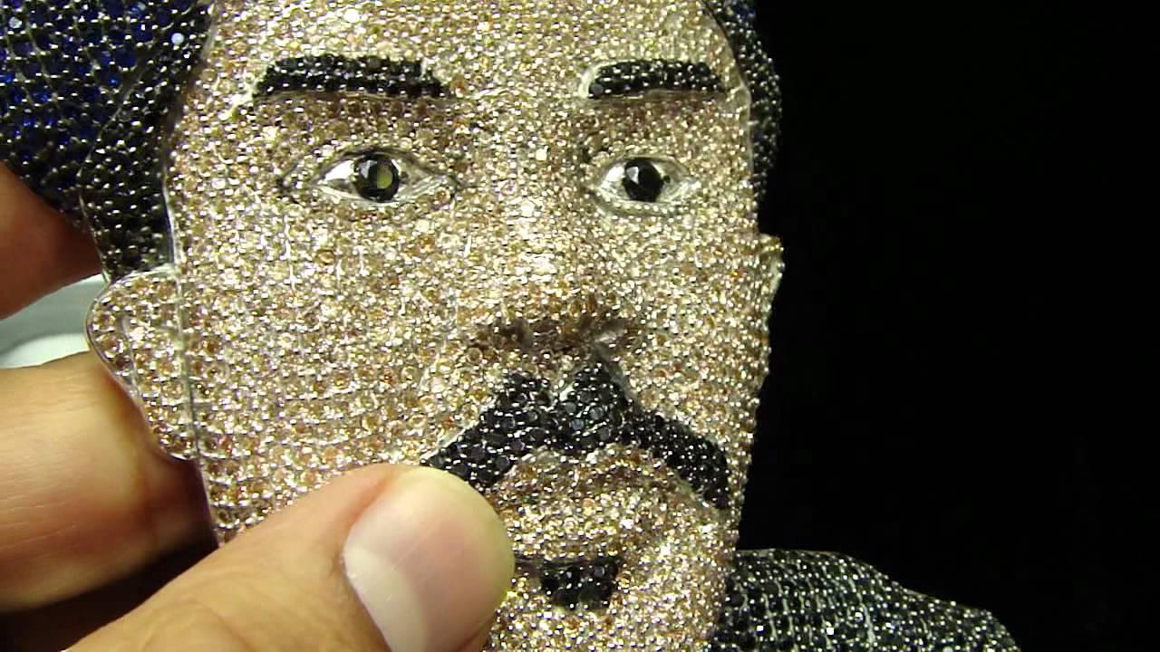 a2c481ba60339 Mr Chris Da Jeweler Custom Face Pendant ( Call Us to Get Your's Done ) by  MrChrisdajeweler