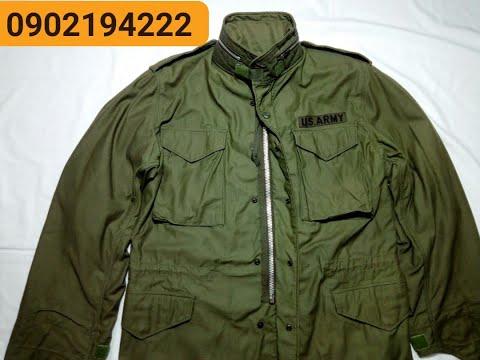 Philaket - Field - M65 - Áo Lính Mỹ - 0913768826 áo Khóa Nhôm 1970 - Chất Gần Như Mới Tinh