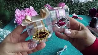 Hediyelik Nikah ve Bebek Şekerleri - Kapağı Açılıp Kapanablir - DIY #95