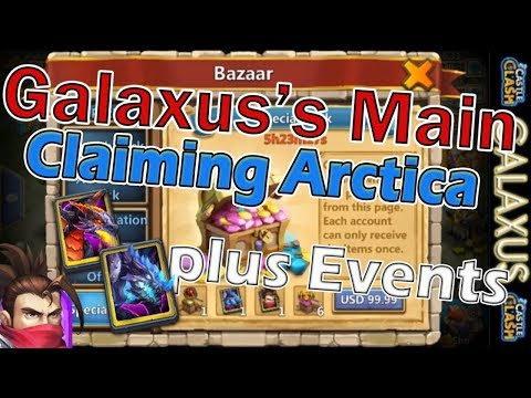  : Galaxus's Main :  Claiming Arctica Moltanica & Ronin And Rolling 30k Gems Plus Events Part 1 Of 2