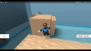 How not to make parkour (Roblox Speed run 4)
