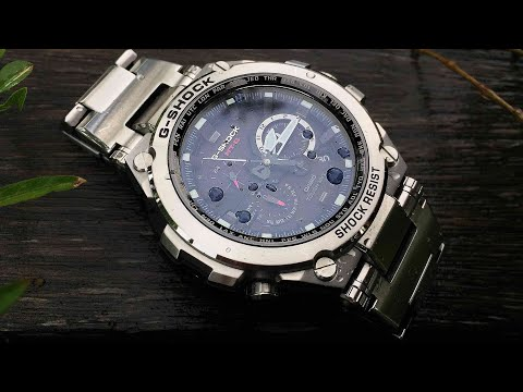 Metal Twisted G-Shock MTG-S1000D-1A1JF Silver Black MTG watch unboxing & review