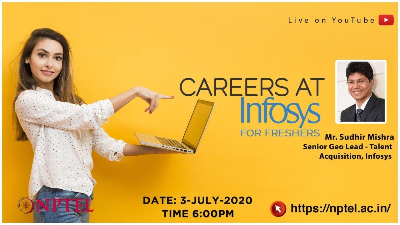 Live_Career at Infosys for Freshers