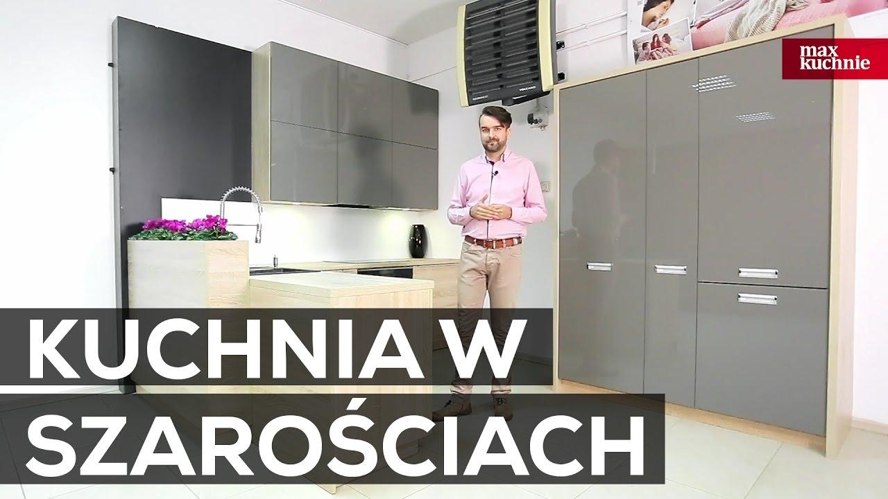 Kuchnia W Szarościach Studio Max Kuchnie Jurimex Częstochowa