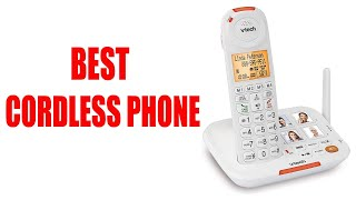 BEST CORDLESS TELEPHONES 2019 | TOP 5 LIST