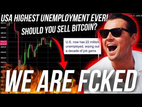 bitcoin-panic-dump-soon?!-usa-unemployment-rockets!-dow-jones,-btc-&-eth-analysis-$25k-live-trade