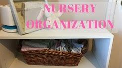 NURSERY ORGANIZATION | Dresser and Closet Baby Room