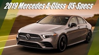 2019 Mercedes A-Class Sedan A220 (V177) US-Specs Overview