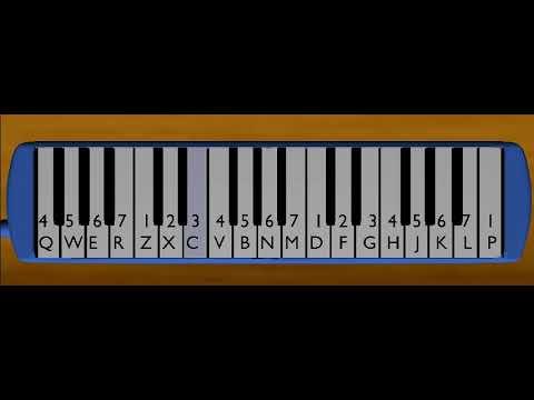 "Lagu Anak ""Dua Mata Saya"" || Pianika"
