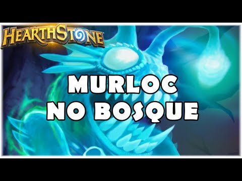 HEARTHSTONE - MURLOC NO BOSQUE! (STANDARD QUEST MURLOC SHAMAN)