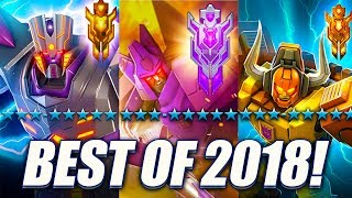 Best Of 2018! Featured Bot Crystal Opening! - Transformers: Forged To Fight