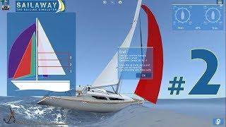 Sailaway - The Sailing Simulator - nazewnictwo żeglarskie.