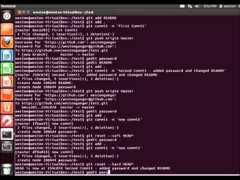 Linux Tutorials - How to Command and Use GIT