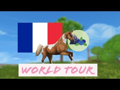 🔴STAR STABLE WORLD TOUR! II France: Blueberry Mountain