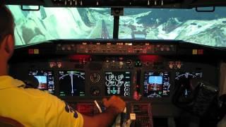 Paro Cockpit Landing home simulator boeing 737-800
