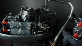 видео Двухтактные лодочные моторы Yamaha