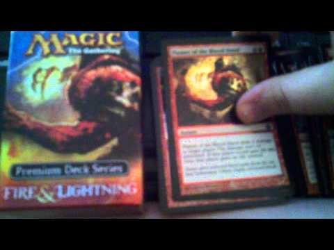 MTG Fire And Lightning Deck