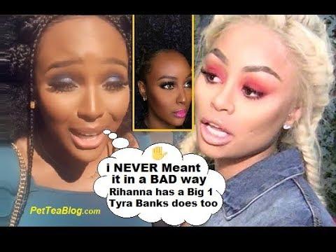 "Amara La Negra Clears Up Blac Chyna Shade ""She has a Big Forehead so does Tyra Banks & Rihanna"" 🙅♀️"