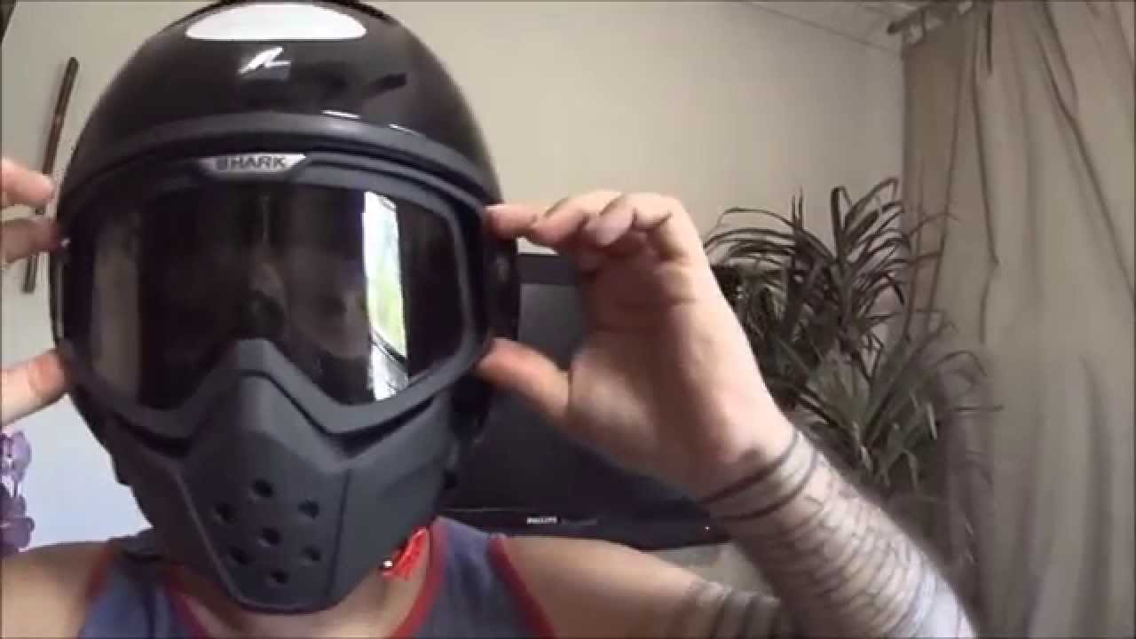 Unboxing Capacete Shark Raw mais Tanque Com Aerografia. - YouTube 2af5f9f39d8