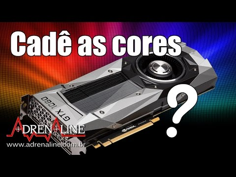Por que as cores na Nvidia são piores? Ziebert dá uma mãozinha nas configurações para melhorar!